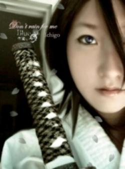 Rukia cosplay ^^