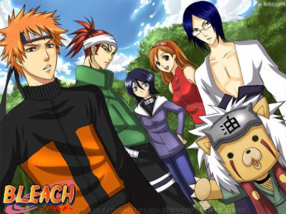 BLEACH-NarutoxD