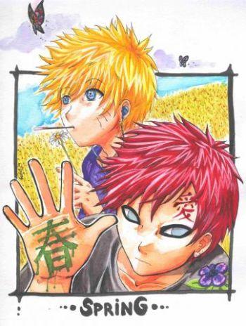 Gaara__Naruto_and_Spring